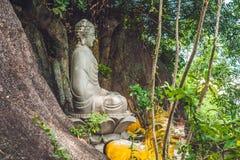 菩萨雕象越南在芽庄市 图库摄影