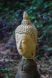 菩萨雕象,泰国顶头射击  免版税库存照片
