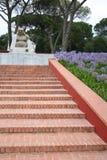 菩萨雕象,菩萨伊甸园公园,葡萄牙 免版税库存照片