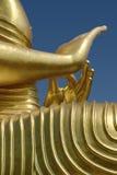 菩萨雕象细节 免版税图库摄影