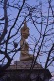 菩萨雕象 免版税库存照片