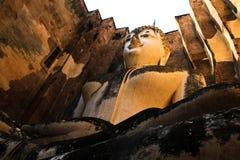 菩萨雕象sukhothai 免版税库存图片