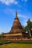 菩萨雕象sukhothai 库存图片