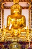 菩萨雕象wat suandok chiangmai泰国 库存照片