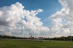 菩萨鲜绿色kaew phra寺庙wat 库存照片