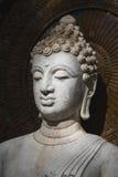 菩萨, budda雕象的面孔 免版税库存图片