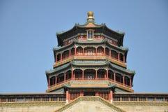 菩萨(Foxiang Ge)的芬芳的塔 免版税库存照片