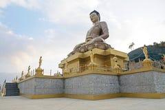 菩萨Dordenma,廷布,不丹 免版税库存照片