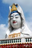 菩萨kek lok马来西亚槟榔岛si寺庙 库存照片