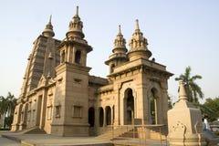 菩萨saranath寺庙 免版税图库摄影