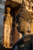 菩萨Sukhothai泰国古老雕象  库存图片