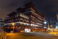 菩萨Toothe遗物寺庙在新加坡 免版税图库摄影