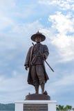 菩萨Yod Fa Chulalok国王伟大的Rama我由泰国皇家军队修建 免版税图库摄影