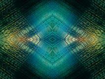 菱形发光的纹理 向量例证