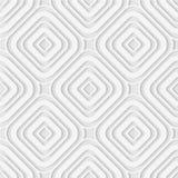 菱形和圈子的无缝的样式 几何墙纸 联合国 库存照片