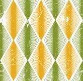 菱形无缝的样式,抽象几何盖瓦背景, 免版税库存照片