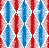 菱形无缝的样式,抽象几何盖瓦背景, 免版税库存图片