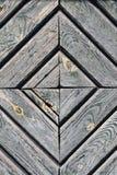 菱形木头的门零件的照片,背景,木纹理 库存图片