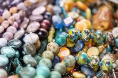 菱锰矿石头,碧玉,玻璃, hrizokola石头宏观射击  免版税库存照片
