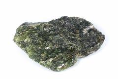 菱镁矿方镁石石头 库存照片