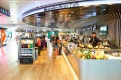 菲乌米奇诺机场 免版税库存照片