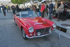 菲亚特敞蓬车1200 1963年 免版税库存图片