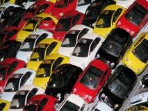 菲亚特500个玩具细节 库存照片