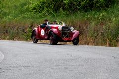菲亚特514加州蜘蛛体育1931年 库存照片