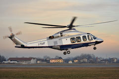 菲亚特直升机阿古斯塔韦斯特兰AW-139 库存照片
