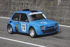 菲亚特126原型赛跑 免版税库存照片