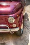 菲亚特500意大利汽车 免版税库存图片