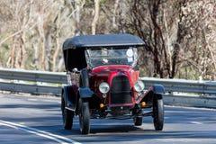 1922年菲亚特501游览车 免版税库存图片