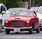 菲亚特1100/103电视coupé Pinin淀粉1955年 免版税库存图片