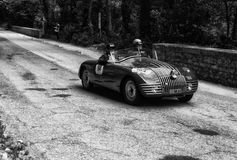 菲亚特508 C BERLINETTA丙氨酸D ` ORO 1947年 图库摄影
