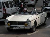菲亚特1500 cabrio 免版税库存图片