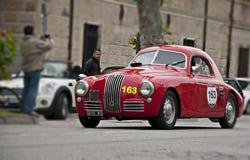 菲亚特1100 S berlinetta Gobbone 1948年 免版税库存照片