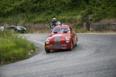 菲亚特1100 S berlinetta Gobbone 1948年 库存照片