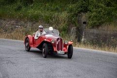 菲亚特508 S Mille Miglia Balilla体育1933年 免版税库存照片