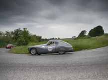 菲亚特8V berlinetta 1954年 图库摄影