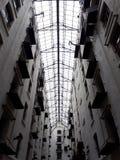 菲利克斯仓库在安特卫普,比利时-顶房顶细节 图库摄影