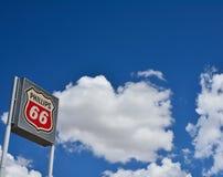 菲利普66加油站标志和商标 免版税库存图片