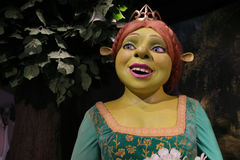 菲奥纳公主蜡雕象 免版税库存图片