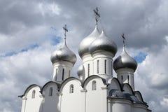 索菲娅大教堂在沃洛格达州 图库摄影