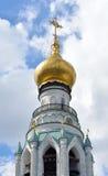 索菲娅大教堂钟楼在沃洛格达州 库存图片