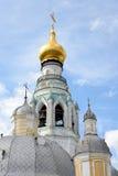 索菲娅大教堂钟楼在沃洛格达州 免版税库存照片