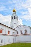 索菲娅大教堂钟楼在沃洛格达州 库存照片