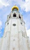 索菲娅大教堂钟楼在沃洛格达州 图库摄影