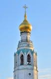 索菲娅大教堂钟楼在沃洛格达州 免版税图库摄影