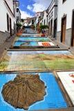 菲尔加斯, Paseo de Canarias 免版税库存图片