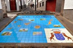 菲尔加斯, Paseo de Canarias 库存图片